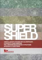 copertina catalogo prodotti Supershield